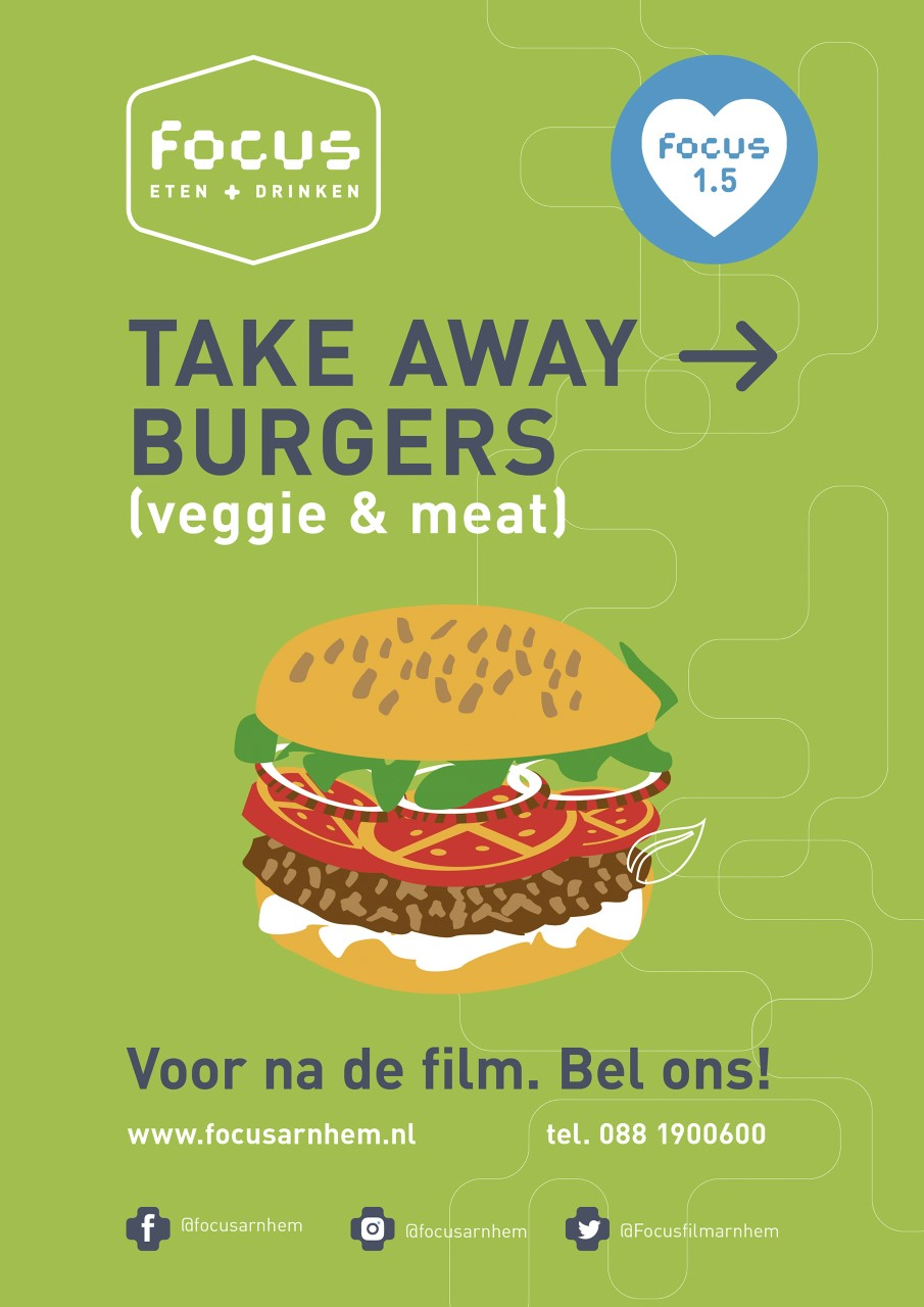 Burger Take Away veggie & meat